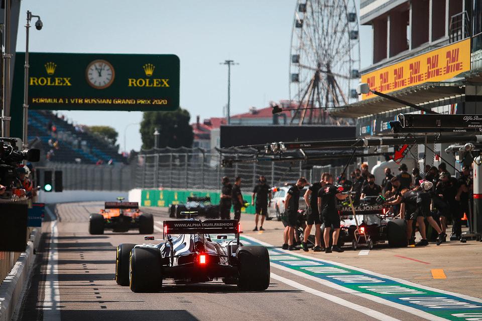 Скорость «Формулы-1» на единственной скоростной трассе России в Сочи восьмой год подряд замеряет Rolex
