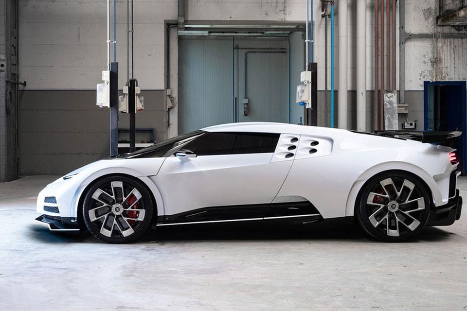 Bugatti Centodieci из коллекции Криштиану Роналду