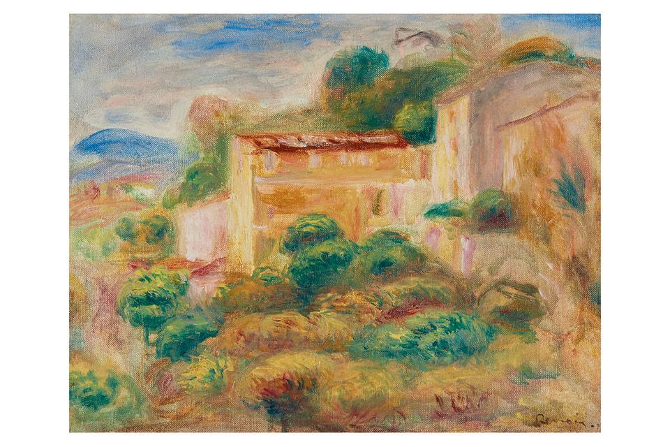 Пейзаж  «Почта» Пьерa Огюста Ренуара 1907 года – один из топ-экспонатов нынешней выставки-продажи Sotheby's