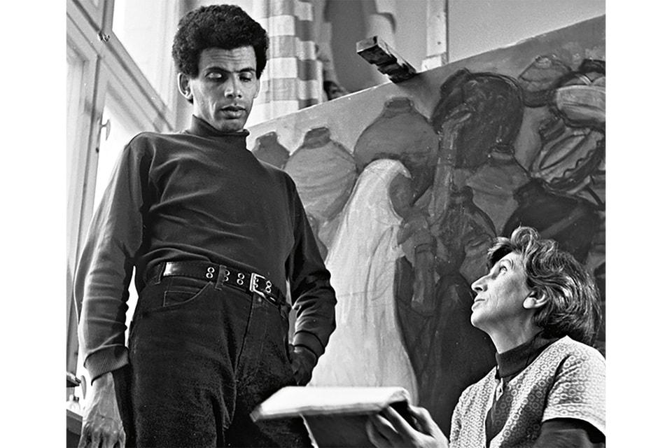 Вера Аралова с сыном Джимом, 1975г.