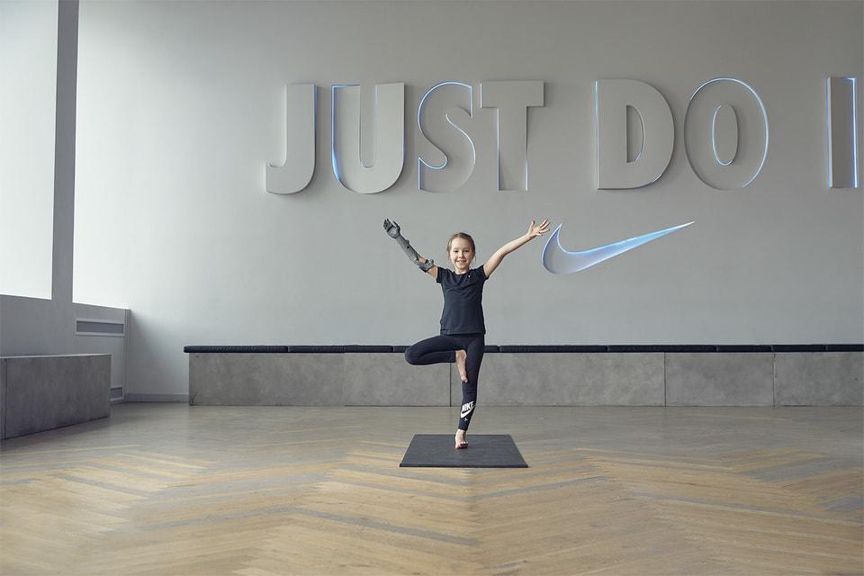 Совместный проект Nike и «Моторика»
