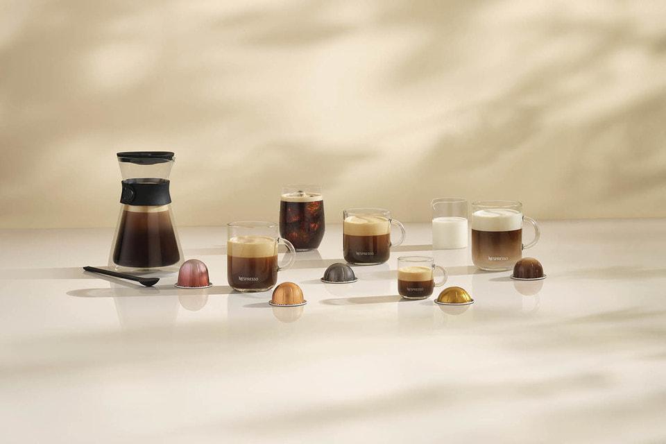 В новой кофемашине Nespresso можно приготовить кофе 33 видов