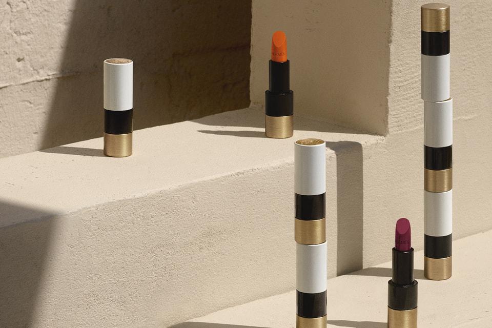 Дизайн помад, румян и кистей Beaute Hermes создан дизайнером Дома Hermes Пьером Арди