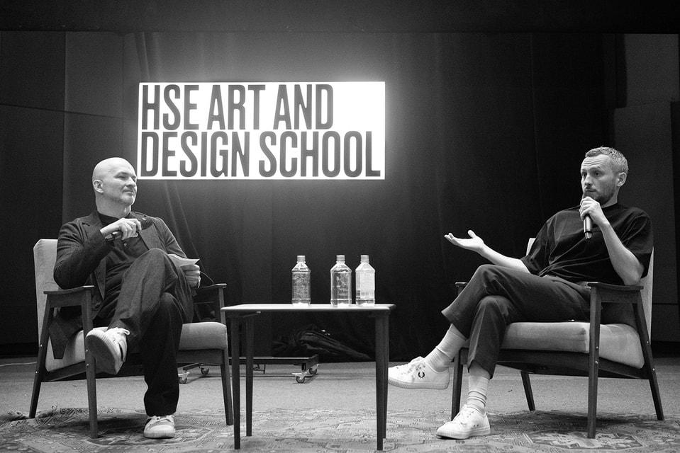 Руководитель направления «Мода» в Школе дизайна Анзор Канкулов и куратор  профиля «Мода как индустрия: дизайн, продукт, продвижение», дизайнер  Андрей Артемов