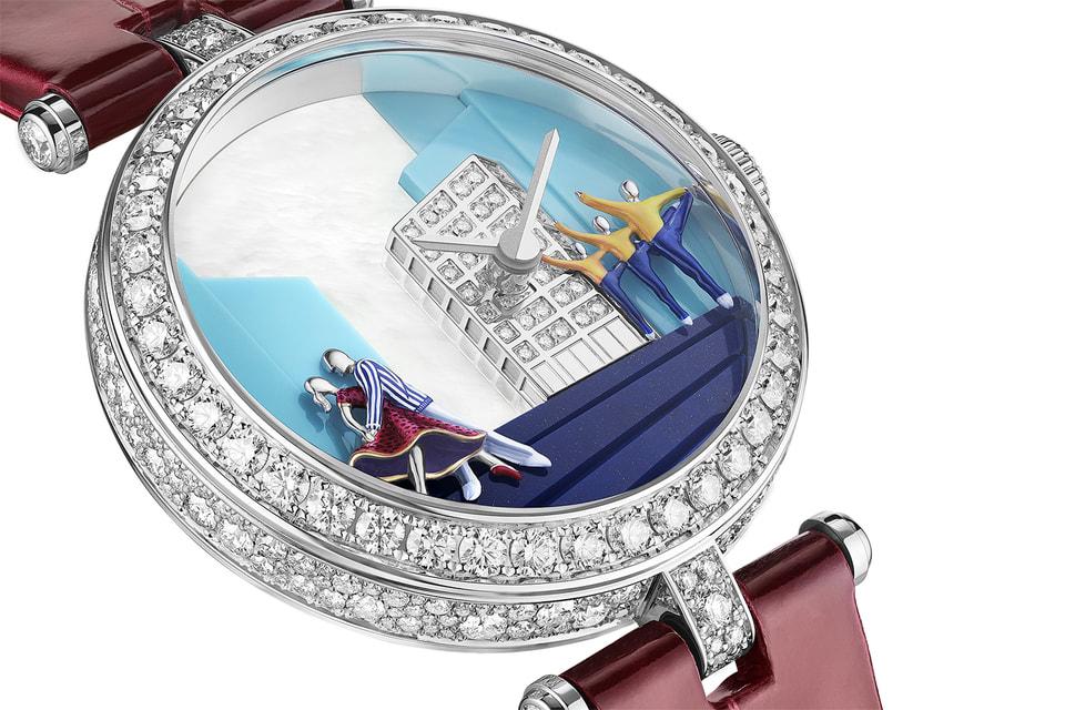 Балетная сценка украшает циферблат часов Lady Danse 2021 года