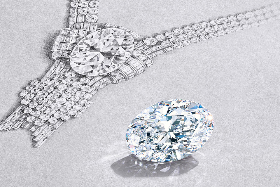 В центре колье Tiffany & Co. 1939 года теперь будет красоваться уникальный 80-каратный бриллиант овальной огранки