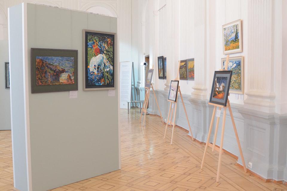 Выставка «Мозаичные интерпретации. Пейзаж в живописи импрессионистов» в особняке Румянцева