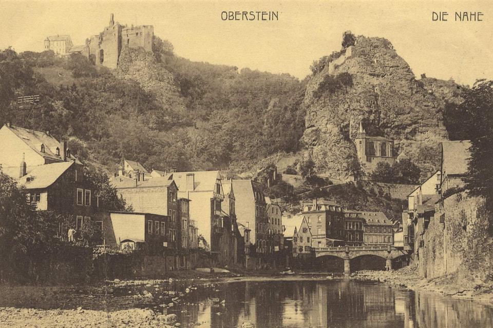 Идар-Оберштайн – живописный городок, с незапамятных времен занятый добычей и обработкой драгоценных и полудрагоценных камней
