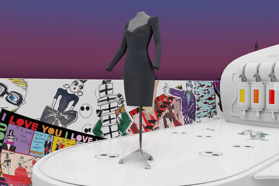 В капсульной коллекции MyBody Эльбаз модернизировал дизайн маленького черного платья