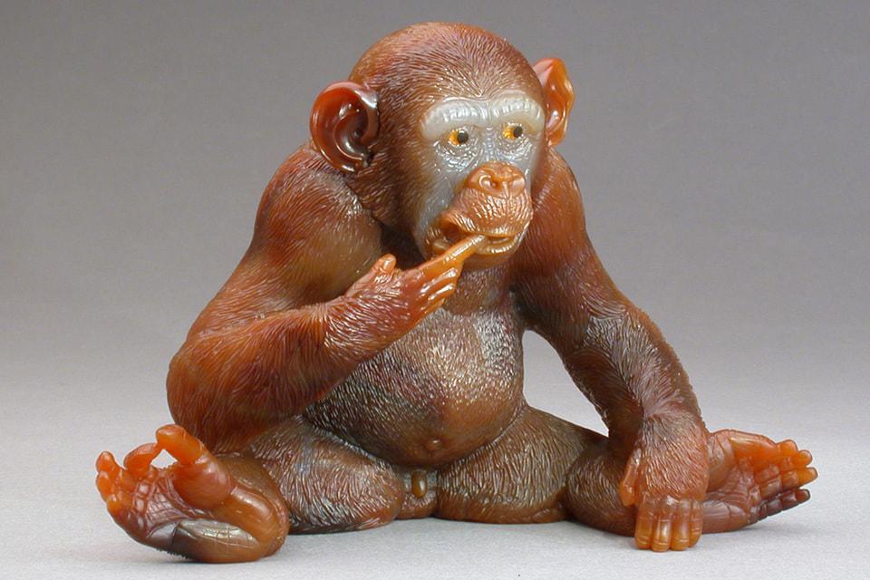 Шимпанзе, мастерская П. Дрейера