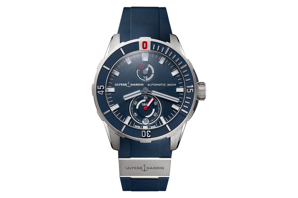 Исполненный в синем цвете хронометр Diver 44 mm в титановом корпусе и с элементами дизайна синего цвета достался победителю гонки Яннику Беставену